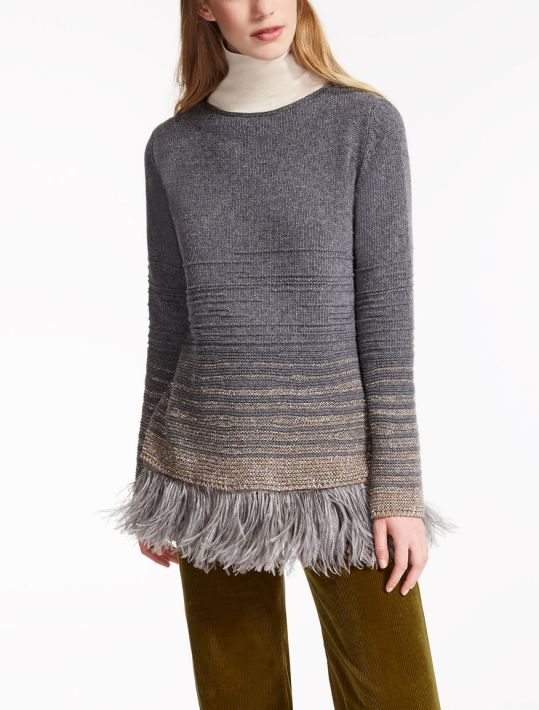 Maxmara Wool and Feather Sweater