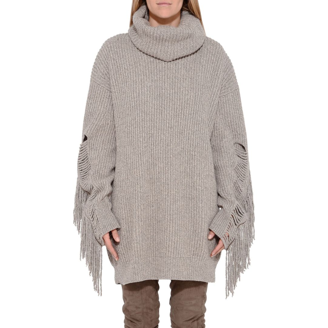 Stella McCartney Large Volume Fringe Jumper