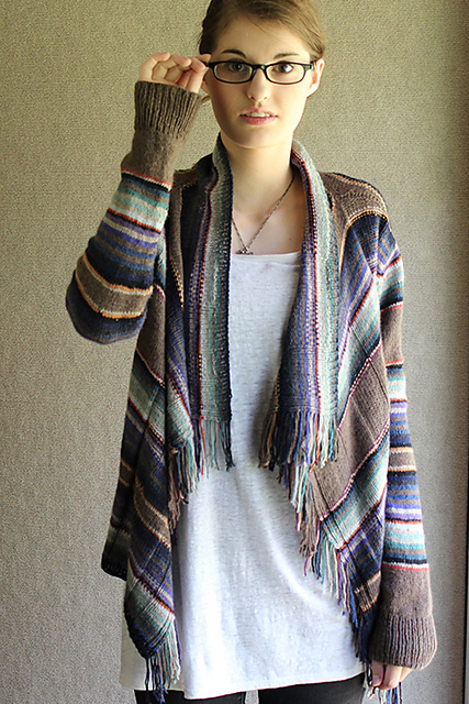 Santa Fe cardigan by Carol Sunday