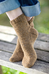 Basic Sock by Churchmouse Yarns and Teas