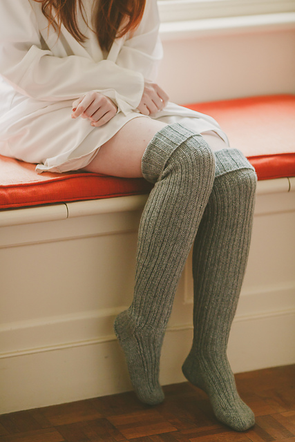 Cheviot Knee Sock by Jo Storie