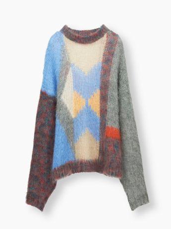 Chloe Loose Graphic Sweater