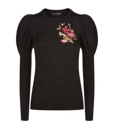 Dolce & Gabbana Embroidered Wool Jumper