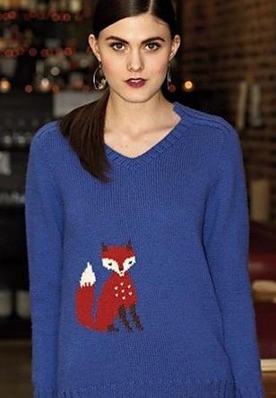 #24 Fox Pullover by Wei Wilkins