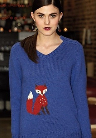 #24 Fox Pullover by Wei Wilkins