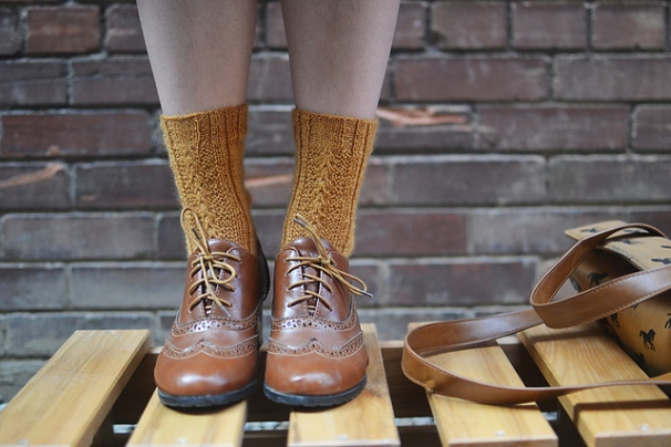 Percolation Socks by Kylie McDonnell-Wade