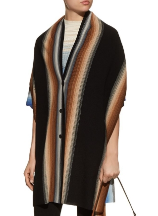 Missoni Striped Wool Long Cardigan