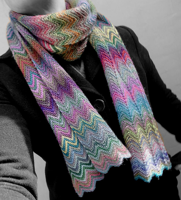 ZickZack Scarf by Christy Kamm
