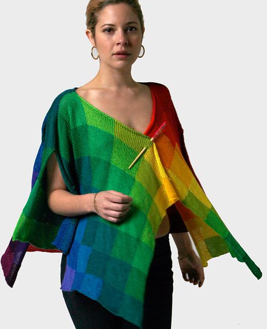 Rainbow Cardigan by Helen Hamann