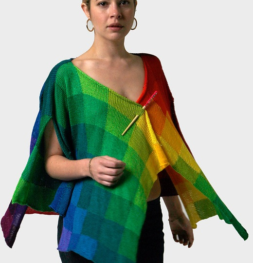 Rainbow Cardigan by Helen Hamann