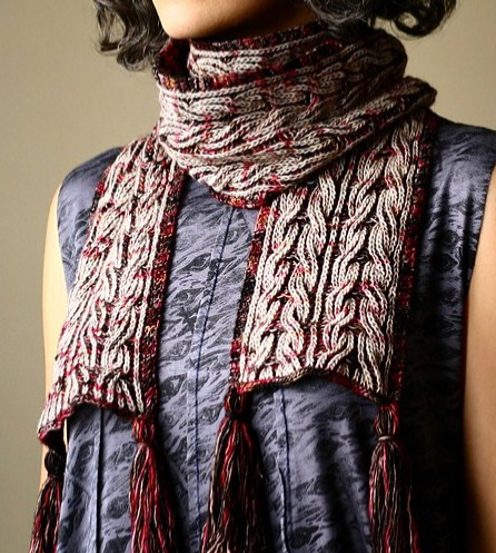 Strong Heart Scarf by Lavanya Patricella