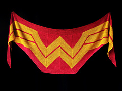 Wonder Woman Shawl by Carissa Browning
