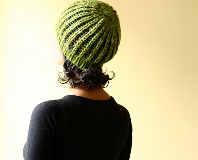 Beginners Brioche Hat by Lavanya Patricella