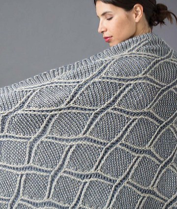 #15 Trellis Blanket by Nancy Marchant. Photo copyright Soho Publishing.