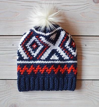 Neva Hat by Bethany Dearden