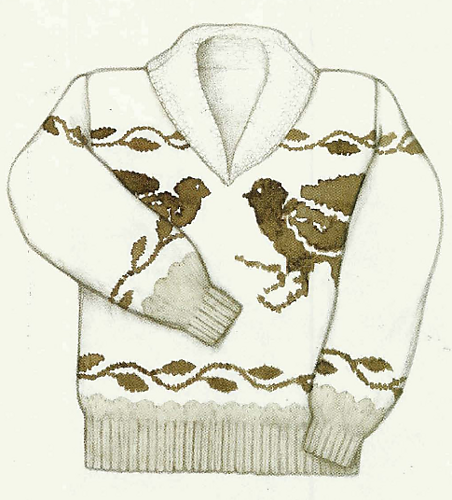 Anatomy of a Salish Sweater by Priscilla Gibson-Roberts