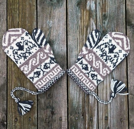 Wolastoq Mittens by Sarah H Arnold