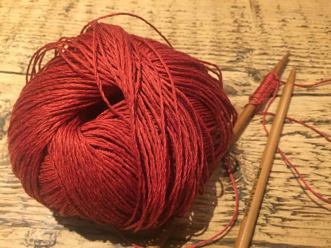 Linen yarn Katia