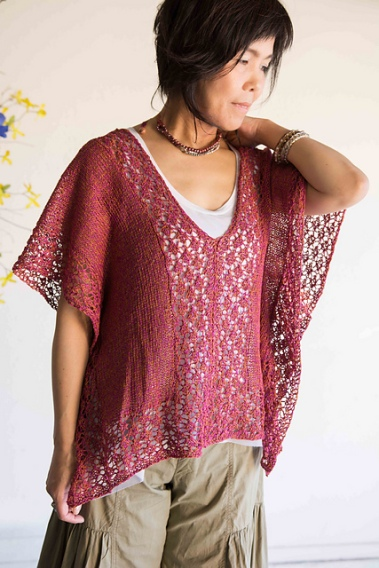 Elegant lace knitted top. Perfect for summer.