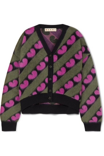 Marni Intarsia Knitted Cardigan (From net-a-porter.com)